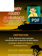 Abdomen Agudo Quirúrgico SJB 2