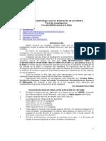 Guia metodologica para la elaboración de un informe