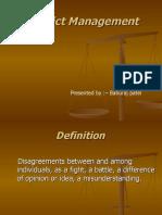 Conflict Management (1)