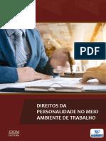 DIREITOS DA PERSONALIDADE NO MEIO AMBIENTE DE TRABALHO