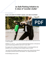 Lime Releases Safe Parking Initiative to Keep Norfolk Clear of 'Scooter Clutter'