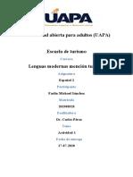 tarea 1 español 2