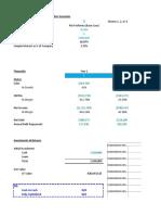 IRR Financial Model