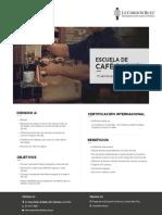 Escuela de Café Barista Le Cordon Bleu Perú