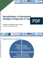 Module 01 Presentation sur la Sensibilisation, le Diagonostic et la Strategie Export