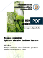Clase Procesos Biológicos III, 2008