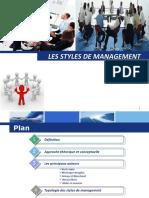 Les Styles de Management Expose
