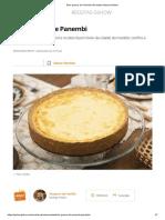 Bolo quesco de Panembi _ Receitas Gshow _ Gshow