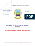 COURS POUR LES DOUANIERS ALGERIENS