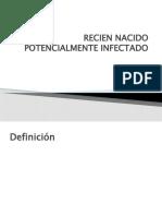 RECIEN NACIDO POTENCIALMENTE INFECTADO