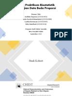 Tugas Praktikum Biostatistik Proporsi