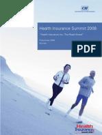 Health Insurance Summit 2008