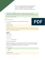 examen 2 en nomina y prestaciones sociales