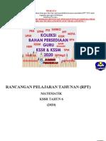 RPT 2020 Matematik Tahun 6 Kssr sumberpendidikan.doc