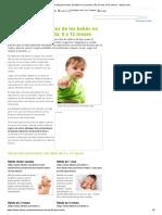 Desarrollo psicomotor del bebé en su primer año de vida_ 0-12 meses - elbebe.com