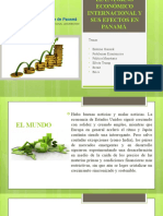 ENTORNO ECONOMICO INTERNACIONAL y sus efectos en Panama