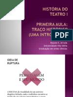 ARRUDA R. PP 2014-8-1 TRAÇO HISTÓRICO INTRODUÇÃO