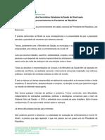 Carta dos Secretários Estaduais de Saúde do Brasil após pronunciamento do Presidente da República.pdf.pdf.pdf