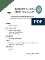 GRUPO 6. INTERFAZ CON DIFERENTES TIPOS DE SENORES.