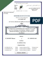 MEMOIRE (Développement et formulation d'un comprimé non enrobé (cas de Diclofénac Sodique) BENDOU (1).pdf