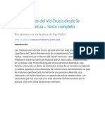 Meditaciones del Via Crucis desde la cárcel de Padua