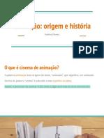 Animação_ origem e história