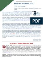 1072 - Antediluvian Timeline to Noah & Postdiluvian Timeline to Joseph