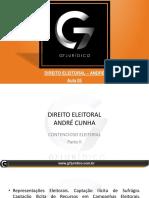Slides do Professor - Disc Complementares - D. Eleitoral - André - Aula 05