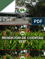 Presentacion Informe de Gestion Vigencia 2017