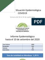Informe de Situación Epidemiologica