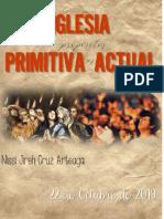 Ensayo Iglesia Actual vs Iglesia primitiva