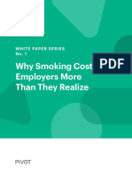 Why Smoking Costs Employer More Than They Realize