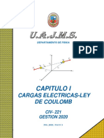 1. CAPITULO I LEY DE COULOMB