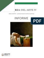 Historia del Arte IV - Informe 2020. 2