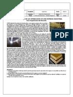 Caso Estudio - La Administración de las Operaciones en una empresa industrial