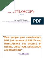 Dactyloscopy ppt