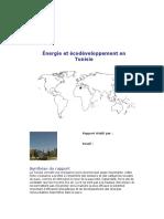 Énergie et écodéveloppement en Tunisie