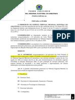 Portaria nº 475-2020 - Estabelece novas regras para o Plantão Extraordinário Presencial