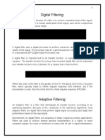 Adaptive Filtering- Applications