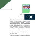 Actividad 3 Presupuesto - Johnattan Henao.xlsx