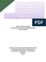 Guía 23