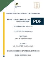 FILOSOFÍA DEL DERECHO PRIMER PARCIAL