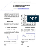 Informe de Laboratorios Circuitos III