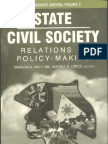 Philippine Democracy Agenda Vol. 2 - State Civil Society Relations in Policy Making