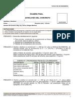 EXAMEN FINAL TECNO CONCRETO 8999 - MIERCOLES - VILLEGAS- 15.07.2020