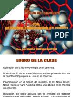 SEMANA 15 - CONCRETOS ESPECIALES - NANOTECNOLOGIA EN EL CONCRETO