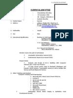 Resume Puru with JGDMB latest