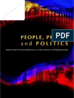 People, Profit, And Politics - State-Civil Society Relations in the Context of Globalization