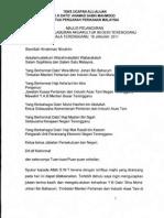 Teks Ucapan Alu-Aluan Ketua Pengarah Perikanan Malaysia di Majlis Pelancaran Seminar Pelaburan Akuakultur Negeri Terenganu