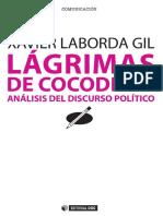 Lágrimas de cocodrilo análisis del discurso político